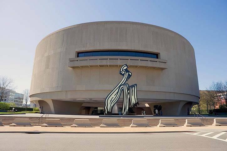 Hirshhorn Museum in Washington DC, USA