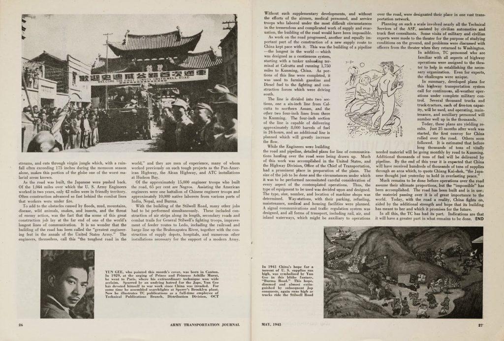 1945_05 Yun Gee Army Transportation 03